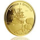 SPECIAL PRICE! 2018 1 oz Gold Rum Runner .9999 Gold Coin in Certi-Lock #A452