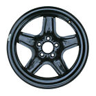Reconditioned 17X7 Black Steel Wheel for 2007 2009 Saturn Aura 560 08075