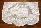 Crocheted Figural  Furniture Doily  Antimacassar Chair Back Horse