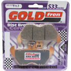 Front Disc Brake Pads for BMW R850C 1998 848cc By GOLDfren
