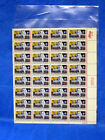 Vintage Sheet of Apollo Moon Landing Stamps First Man on The Moon
