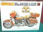 1977 RELEASE MATCHBOX FLH-1200 HARLEY DAVIDSON PLASTIC MODEL KIT 1/12 STILL SEAL