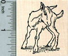 Baby Goat Rubber Stamp Cute Kid G31822 WM