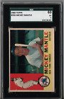1960 Topps Mickey Mantle #350 SGC 60 T46