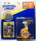 1991  DARRYL STRAWBERRY - Starting Lineup -SLU -Figure/Card/Coin - N.Y. METS-(EX