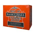 2016-17 Leaf Best of Basketball Unopened Edition Hobby Box