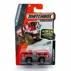 BLAZE BLASTER Firetruck Red MBX HEROIC RESCUE 2013 Matchbox on a Mission 164