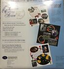 NEW Creative Memories Custom Cutting System CLUB PATTERNS Sealed Set 3 Shapes