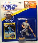 1991  KELLY GRUBER - Starting Lineup - SLU - Sports Figure - KANSAS CITY ROYALS