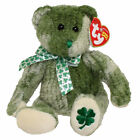 TY Beanie Baby - MCWOOLY the Green Bear 2004 (8 inch) - Stuffed Animal Toy New!
