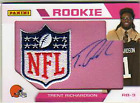 2012 Panini Father's Day Manufactured Patch Autographs #TR Trent Richardson NFL