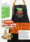 Anita Goodesign Retro BBQ Embroidery Machine Designs CD
