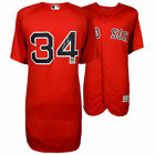 DAVID ORTIZ Autographed Boston Red Sox Red Authentic Official Jersey FANATICS