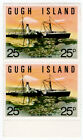 (I.B) Cinderella Collection : Gugh Island 25p (Earl of Arran)
