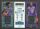 2017-18 Panini Contenders Rookie Ticket De'Aaron Fox Giles RC Tag Patch 1 1
