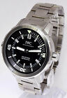 IWC Aquatimer Stainless Steel Automatic Black Dial Watch Box/Papers 3290