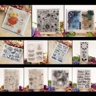 DIY Silicone Clear Stamp Cling Seal Scrapbook Embossing Album Decor Craft