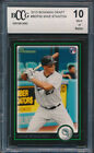 2010 Bowman Draft #BDP30 Giancarlo Stanton Rookie Card Graded BCCG 10