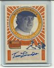 Tommy Lasorda 2014 Panini Americas Pastime Auto Card 25 Boy Of Summer Autograph