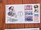 WW2 GENERAL DOUGLAS MACARTHUR ARMY WEST POINT I SHALL RETURN 1971 COMBO FDC