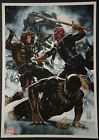 Black Panther Winter Soldier Art Print Signed by Mark Brooks