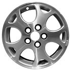 OEM Used 16X65 Alloy Wheel Medium Silver Sparkle Painted w Machined Face 7022