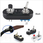Durable DIY Custom Black Motorcycle Engine Stop Start Kill Lever Switch ButtonX1