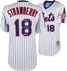 Darryl Strawberry New York Mets Autographed M&N 1986 White Authentic Jersey