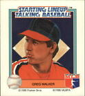 1988 Chicago White Sox Starting Lineup Baseball Card #19 Greg Walker