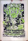 Electric Frankenstein Wide Right Scream and Sream Again Signed Poster 5/20