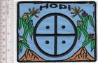 American Indian Hopi Tribe Crest Arizona Hopi Iindian Nation Kearns, AZ blue