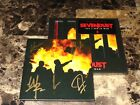 Sevendust Rare Band Signed Autographed CD All I See Is War 2018 Heavy Metal COA