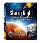 Starry Night Complete Space  Astronomy Pack Deluxe Edition CD  DVD PC Mac