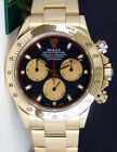 Rolex Cosmograph Daytona Yellow Gold Black Paul Newman Dial 116528 - WATCH CHEST