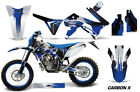 Dirt Bike Graphics Kit Decal Wrap For TM Racing 125/144/250/300 15-17 CARBONX U