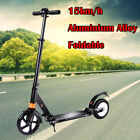 2018 Hot 8 150W Adult 2 Wheels Electric Urban Scooter Foldable Black US SELLER