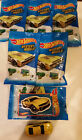 Hot Wheels 2016 Mystery Models Lot of 6 12 Camaro ZL1 Concept Cars NEW YELLOW