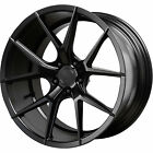 22x9 Black Verde Axis V99 Wheels 5x120 +35 Fits Land Rover Discovery LR4