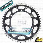 Apico Evolite Black Rear Sprocket 49T 520 For Sherco SE-F 450 4T 2005
