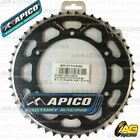 Apico Evolite Black Rear Sprocket 47T 520 For Sherco SE-F 450 4T 2005
