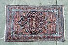 Semi Antique Persian malayer hamadan rug 2.6x4