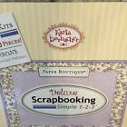 Paper Boutique4 Seasons Deluxe Scrapbooking Simple as 1 2 3 Karla Dornacher NEW