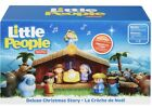 Fisher Price Little People Nativity Set DELUXE Christmas Story NEW