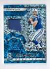 ANDREW LUCK 2017 PANINI SPECTRA SUNDAY'S SPECTACLE GAME WORN JERSEY #99 99