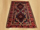 Authentic Hand Knotted Afghan Baluch Balouch Wool Area Rug 5x3 Ft (5345)