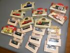 18 LOT 1 43 MATCHBOX CHEVRON CAMPBELLS SOUP DIECAST VOLKSWAGEN BUS FIRE TRUCK +