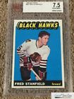 1965-66 Topps #63 Fred Stanfield RC BVG NM+ 7.5 (pop:2, higher:0), *SEWALL*