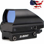 SVBONY Red+Green Tactical Dot Sight 5 Level of Brightness 4 Reticle US LOCAL NEW