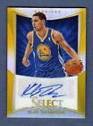 KLAY THOMPSON 2012-13 SELECT GOLD AUTOGRAPH AUTO ROOKIE RC # 10 WARRIORS