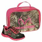 Realtree Miss Eagle Girls Slip On Sneakers in Pink Green 13